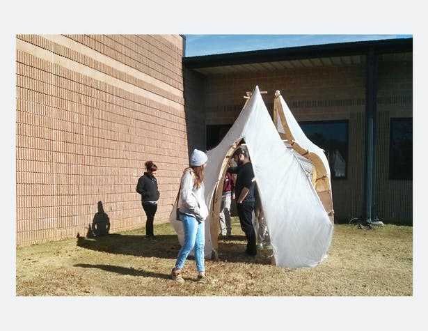 Photo of Paper Shelter