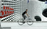 Massive bicycle parking garage offers museum-like experience