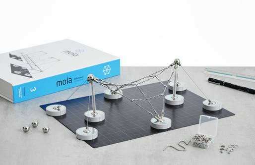 Mola Structural Kit 3. Image © Mola Structural Model