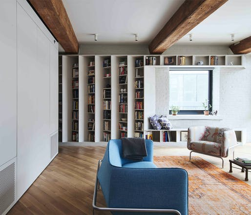 Publisher's Loft by Büro Koray Duman Architects.