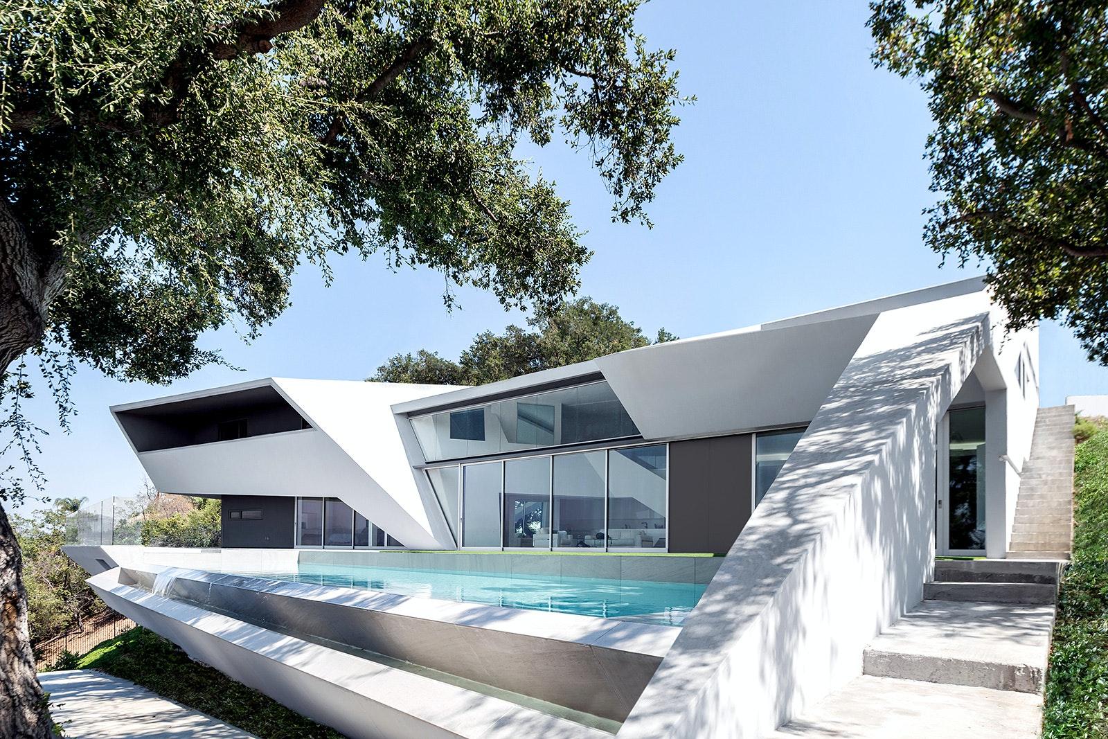 MU77 u2013 Mulholland residence with Arshia Architects