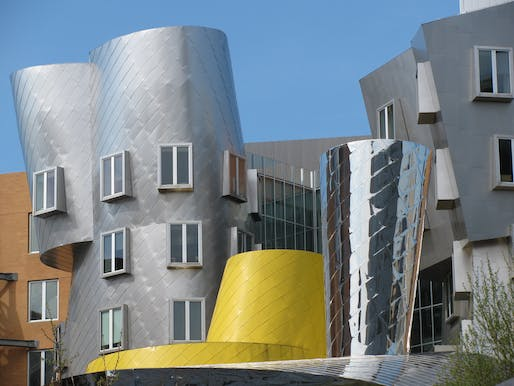 Frank Gehry's Stata Center at MIT. Image courtesy of Flickr user Pablo Sanchez Martin.