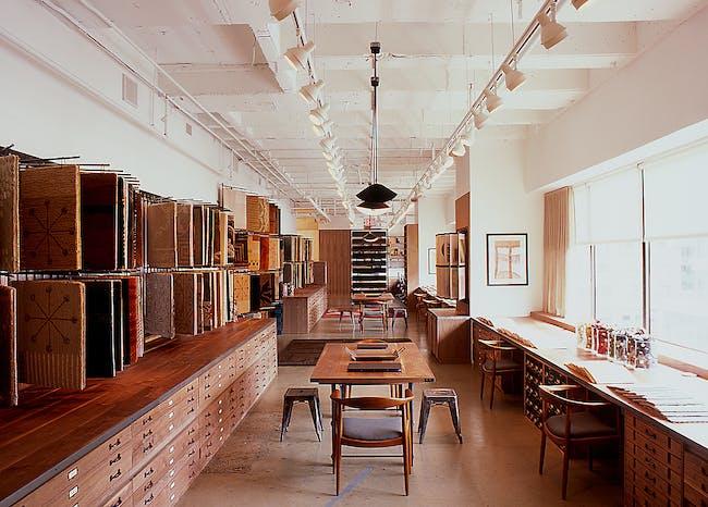 Edward Fields Carpet Makers by BR Design Associates. Photo © BR Design Associates