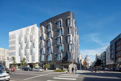 Architecture - Honor: 388 Fulton by David Baker Architects. Photo: Bruce Damonte.