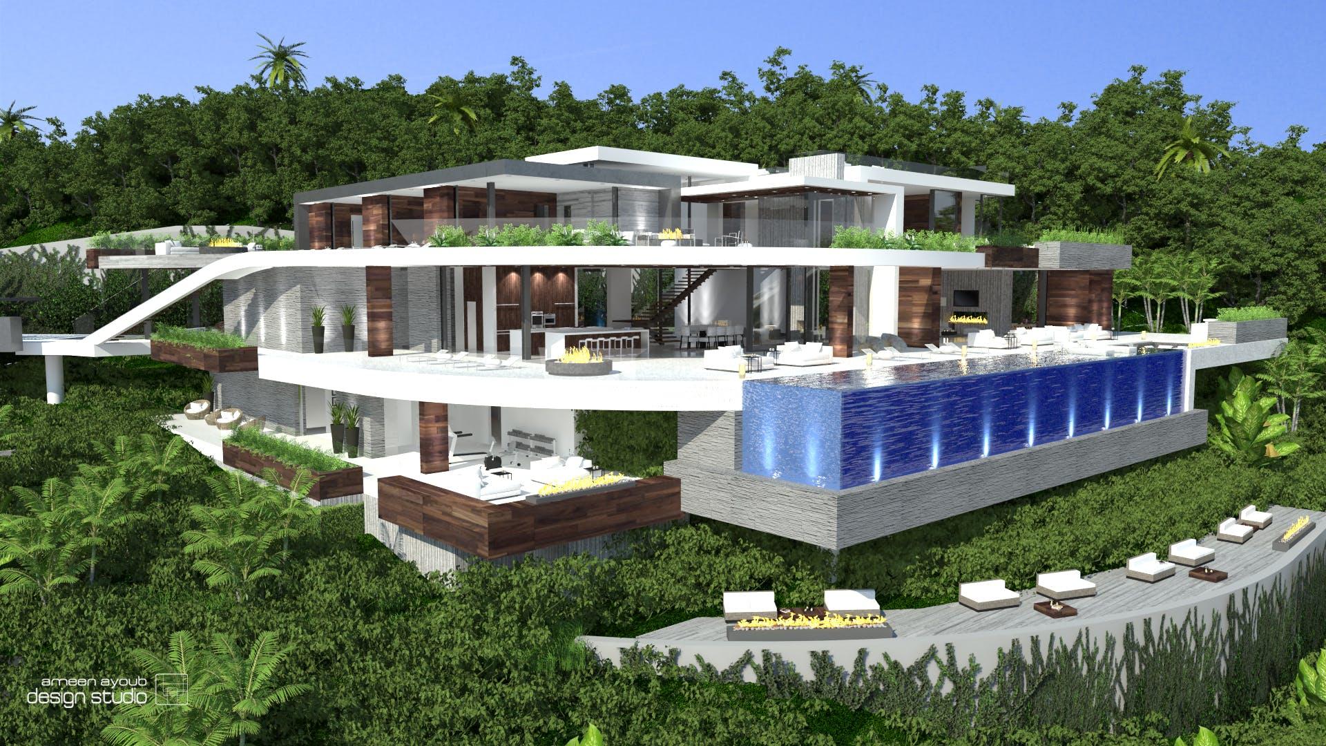 1300 Beverly Estates Residence Ameen Ayoub Archinect