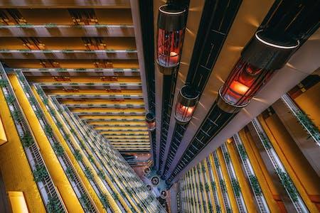 """The Grand Atrium"" Singapore, 2016. Image © Peter Stewart"