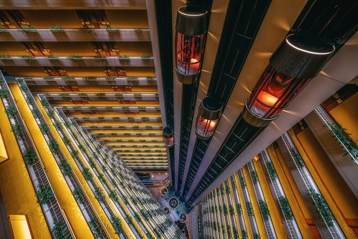 """The Grand Atrium"" Singapore, 2016. Image © Peter Stewart"
