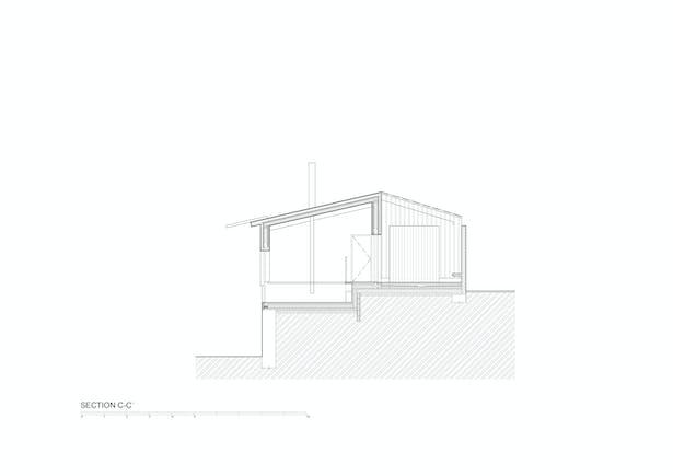 Section C-C © Mjölk architekti