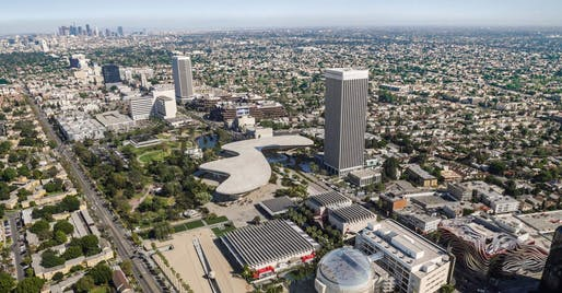 A new lawsuit by the group Fix the City argues that the county's environmental impact report for the LACMA expansion is flawed. Report Image by Atelier Peter Zumthor & Partner/The Boundary.