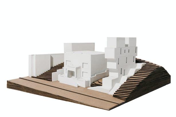 SITE SCALE MODEL I SCALE 1/16=1´-0'