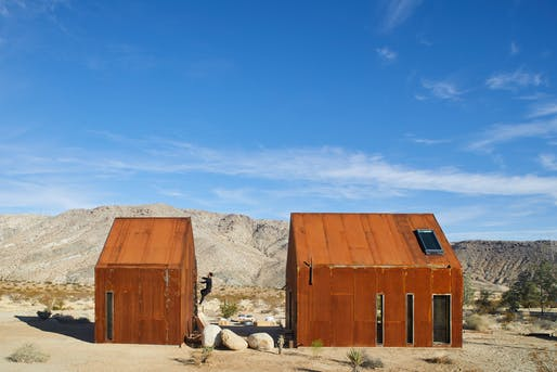 Folly Prototype by Cohesion Studio, located in Joshua Tree, CA. Image: Cohesion Studio.