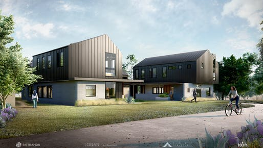 Rendering of the East 17th Street Residences development in East Austin. All images courtesy of ICON & 3Strands.