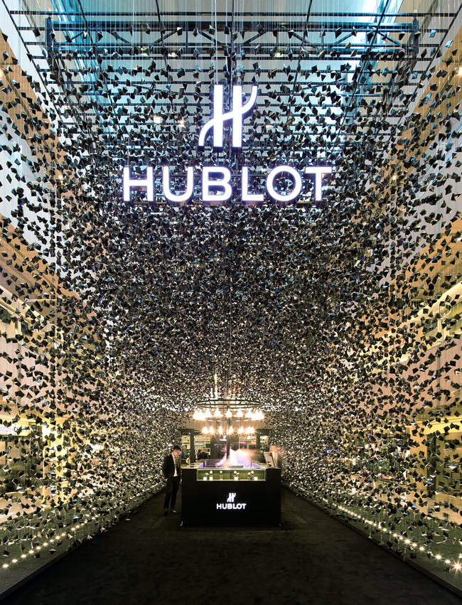 Shortlisted in Display: Hublot Pop-Up Store by Asylum Creative Pte Ltd (Singapore)