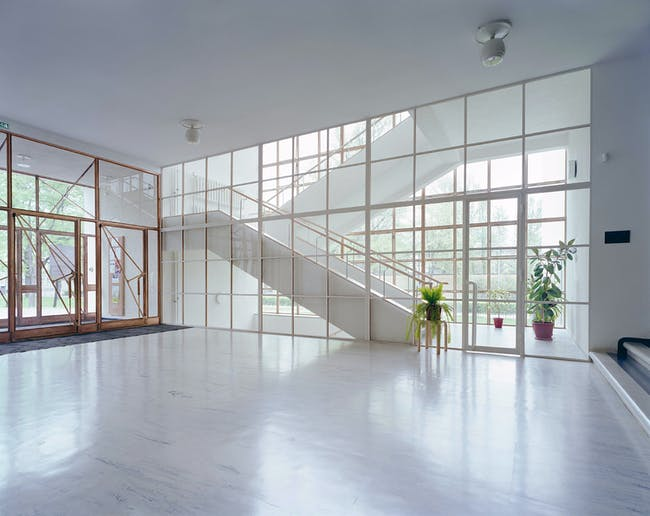Lobby, 2014. Credit: The Finnish Committee for the Restoration of Viipuri Library and Petri Neuvonen.