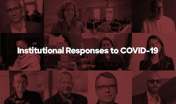 School of Architecture Deans Voice Institutional Responses to the COVID-19 Crisis