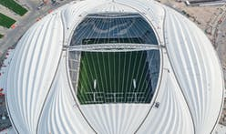 Zaha Hadid's Al Wakrah 2022 FIFA World Cup Stadium in Qatar inaugurated