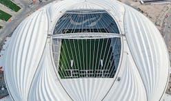 Zaha Hadid's Al Wakrah 2022 FIFA World Cup Stadium in Qatar inaugurated
