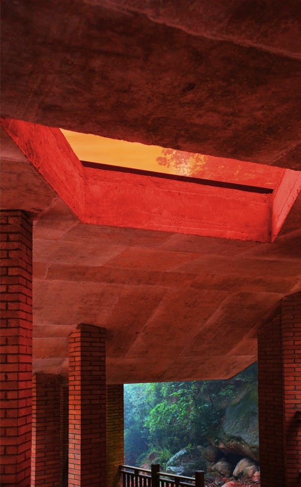 Outdoor Corridor Credits: West-line Studio