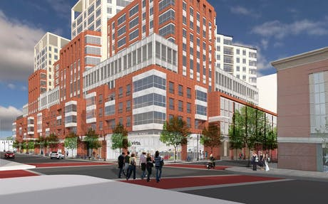 'Burlington City Place' Redevelopment Project