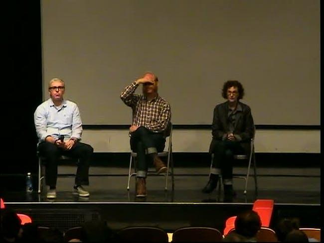 Scott Klinker, Anders Ruhwald, Beverly Fishman (L-R)