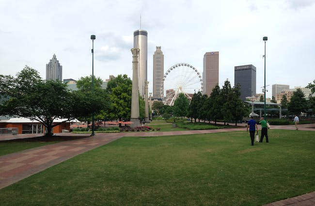 A view from Downtown Atlanta. Photo by Amelia Taylor-Hochberg.