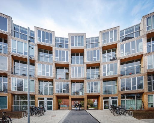 Dortheavej housing complex in Copenhagen by BIG. Photo: Rasmus Hjortshoj.