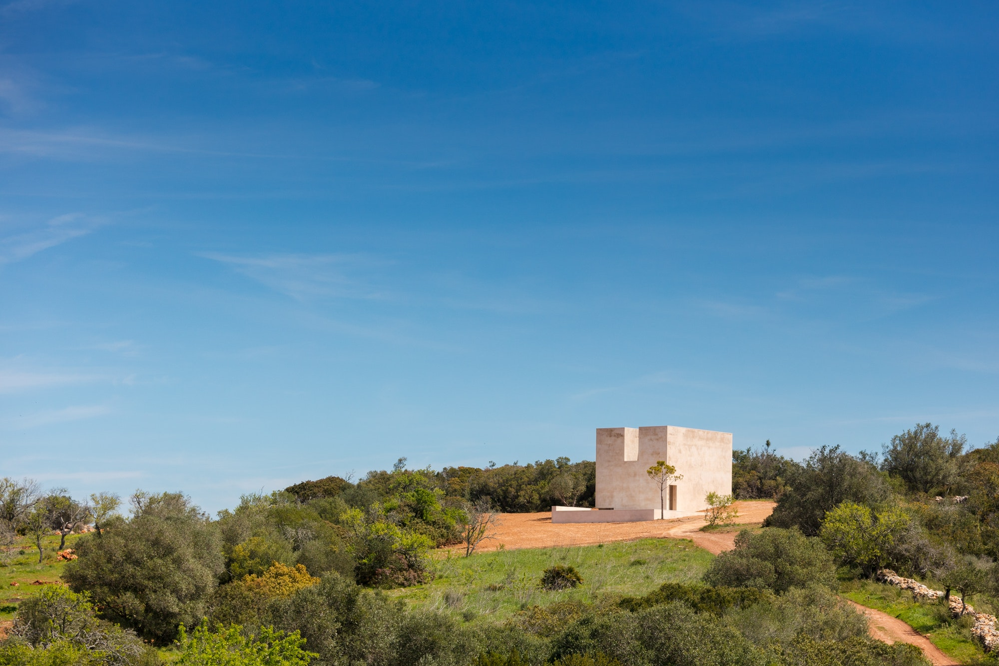 The Chapel Is Surrounded By Natural Landscape, Making It A Peaceful,  Spirit Restoring Retreat. All Images Courtesy Of João Morgado.