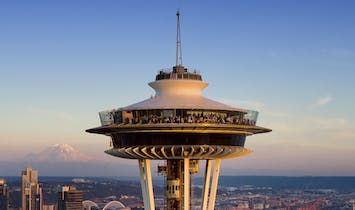 Seattle's Space Needle reopens after major renovation—now sporting a rotating glass floor