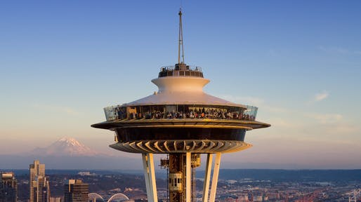 Space Needle. Photo courtsey of Chad Copeland.