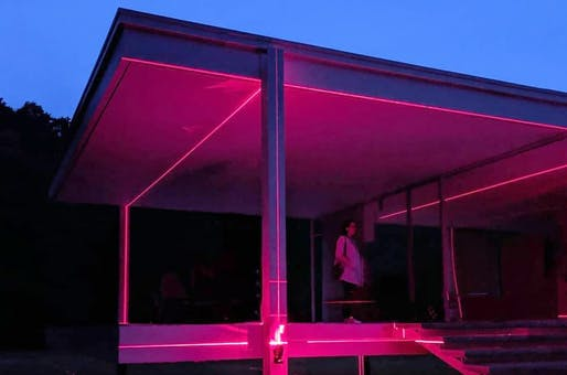 Preview of Geometry of Light at the Farnsworth House. Photo by Greg Foster.