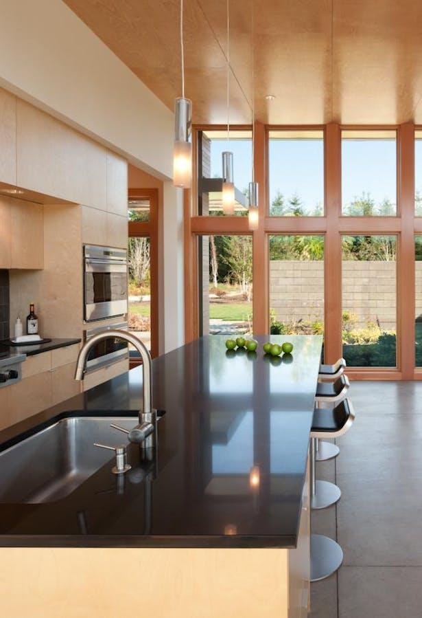 Olympia Prairie Home kitchen