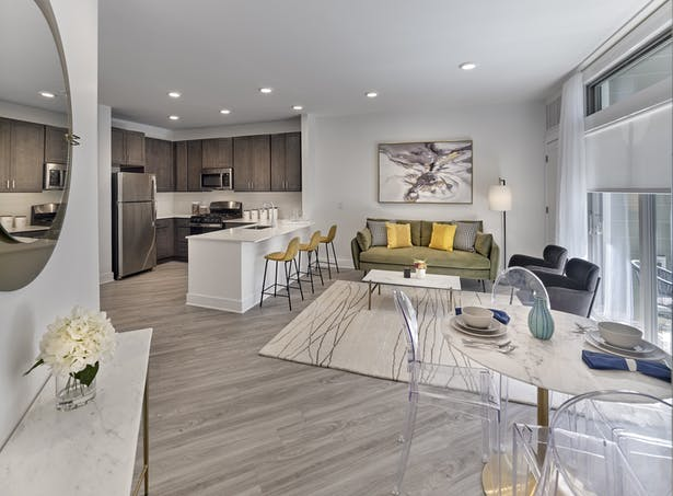 Crossings at Raritan Station model residence - Courtesy of The Marketing Directors