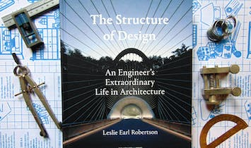 "Win ""The Structure of Design: An Engineer's Extraordinary Life in Architecture"" by Leslie E. Robertson!"