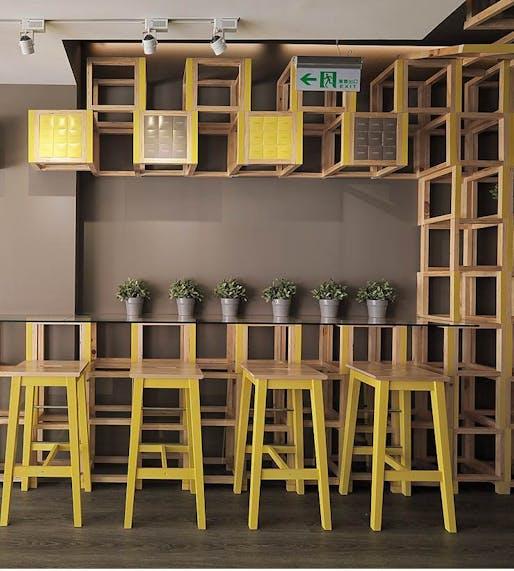 Les Bebes Cafe by JC Architecture. Photo © JC Architecture