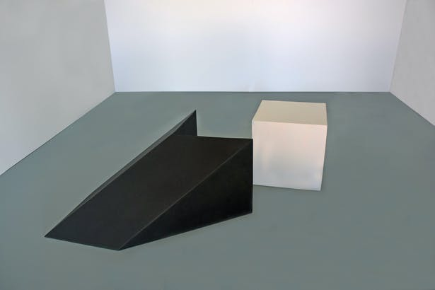 The cube and cube shadow space.