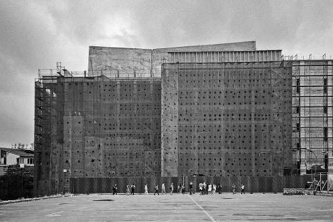 perspective on the Atatürk Cultural Centre in Taksim -Turkish artist Hasan Deniz