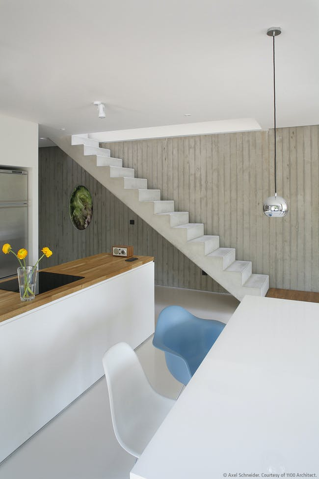 House in Bad Soden am Taunus, Germany by 1100 Architect; Photo: Axel Schneider