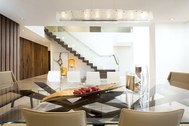 Dining Room - Residential Interior Design Project in Aventura, Florida