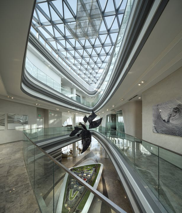 Hongqiao World Centre Gallery by Aedas