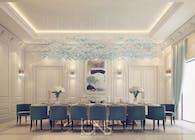 Palatial Dining Room Design