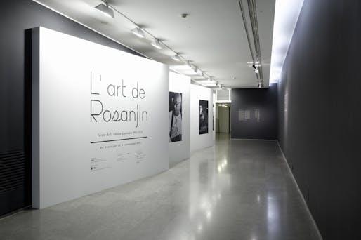 L'art de Rosanjin exhibition design by Ryusuke Nanki. Image courtesy of Ryusuke Nanki.