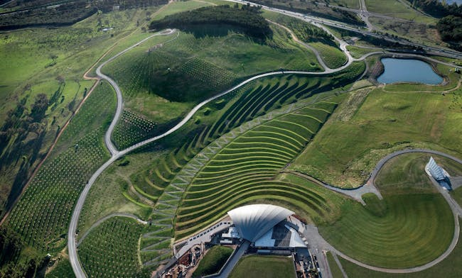 Landscape Project of the Year: National Arboretum Canberra, Australia, designed by Taylor Cullity Lethlean and Tonkin Zulaikha Greer