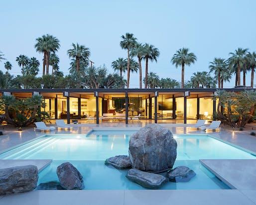 Harvey House (Palm Springs, CA) by Marmol Radziner (original design: Buff & Hensman). Photo: Roger Davies.