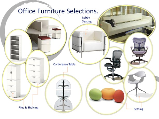 Office Furniture Selections