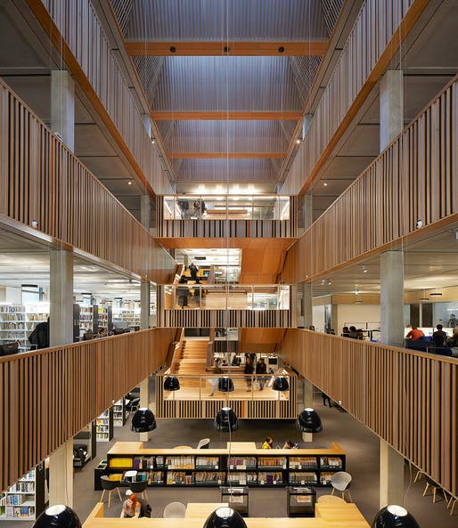University of Roehampton Library by Feilden Clegg Bradley Studios. Photo: Hufton+Crow.