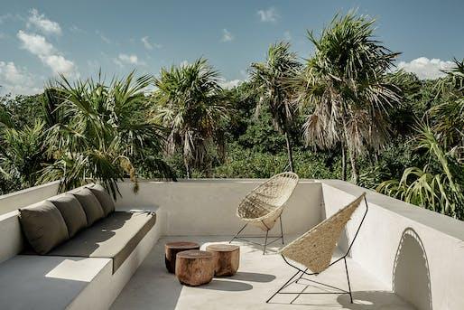 Co – Lab Design Office + Annabell Kutucu, Tulum Treehouse. Photo: Brechenmacher Baumann.