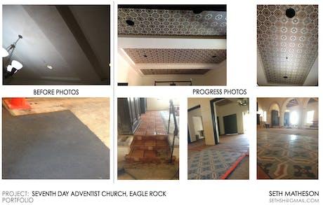 Church Redesign in Eagle Rock - IN PROGRESS