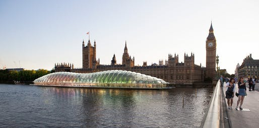 Temporary Parliament, SW1 by Gensler and Royal Haskoning DHV.