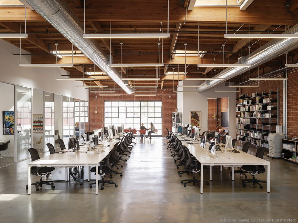 Brand new school office los angeles 1100 architect - Interior design school los angeles ...