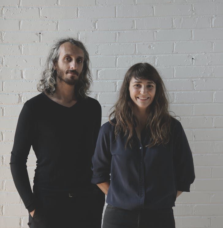 Founders Antonio Di Bacco and Cécile Combelle. Photo Credit: Atelier Barda.